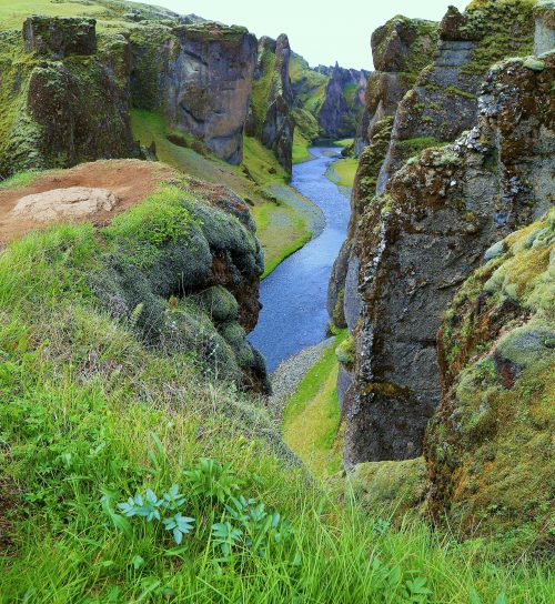 The Canyon Walls~ Iceland ~ © Lynne Simons Photography